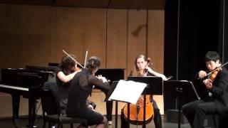 """Haydn """"Quinten"""" Quartet op 76 no 2 hob 76 mvmt 1"""
