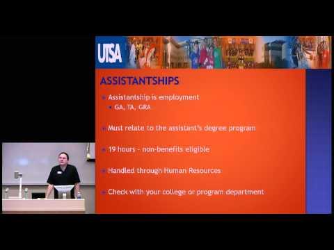 UTSA - Financial Aid for Graduate Students (Grad School)