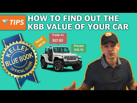 How To Find Out The Kelley Blue Book Value Of Your Vehicle   EZ Tips Ep44