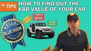 How to find out the Kelley Blue Book value of your vehicle | EZ Tips Ep44
