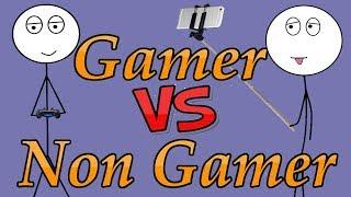 Gamer VS Non Gamer !! life Of a gamer and non gamer