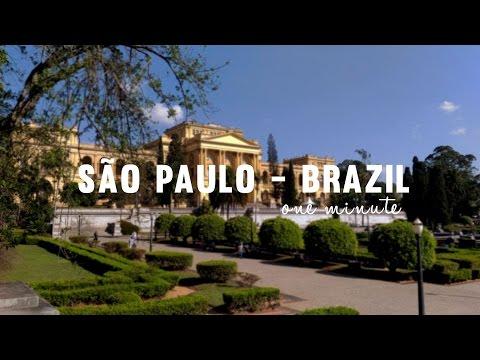 Sao Paulo in one minute
