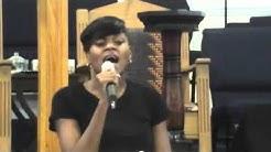"Sharla Chavers - ""Eye on the Sparrow"" St. John COGIC Quincy, FL -"