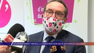 Yvelines | Le département révèle la construction de 15 nouveaux collèges