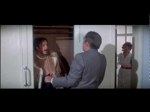 Inspector Clouseau surprises Dreyfus