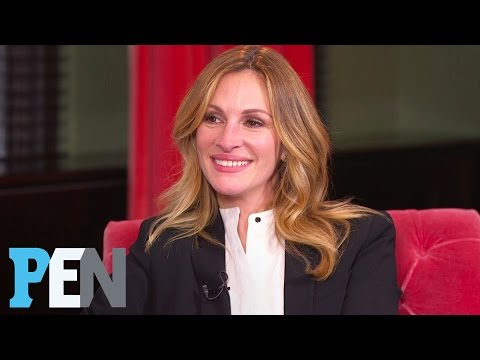 How Julia Roberts Talks To Her Twin Daughters & Sons About Beauty | PEN | Entertainment Weekly