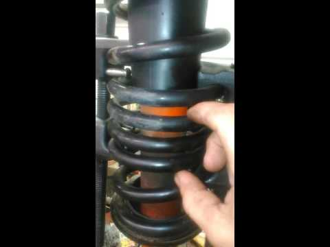 How I install Bilstein shocks on my fourth generation camaro front end