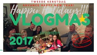 Happy Holidays! | Extended VLOGMAS!!! | What is Tweede Kerstdag? | Jeroen and Kyn