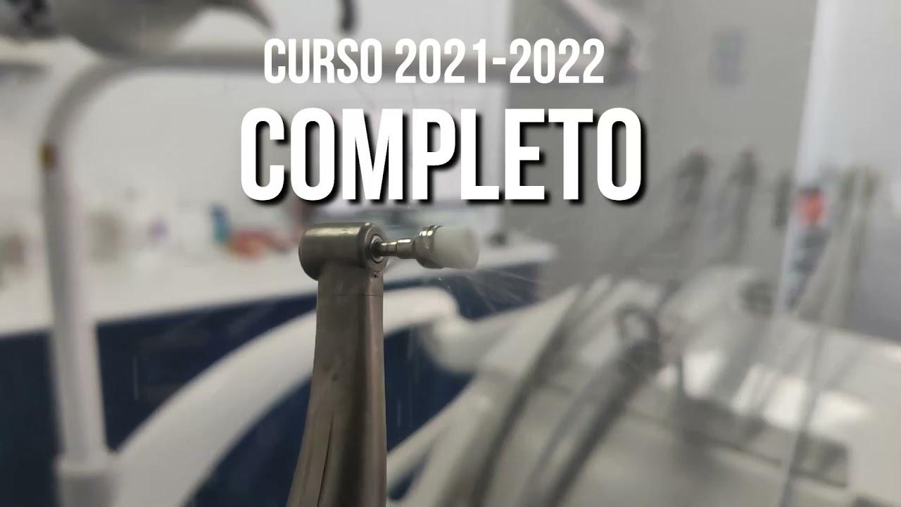 Curso académico 2021-2022 completo. Grado Superior Higiene Bucodental ADES Centro Sanitario Integral