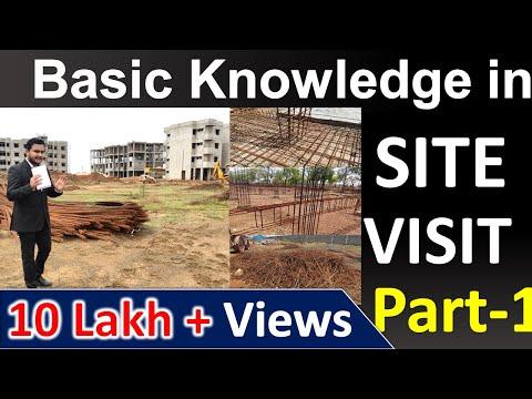 Basic Knowledge in Site Visit for CIVIL ENGINEER #civilguruji