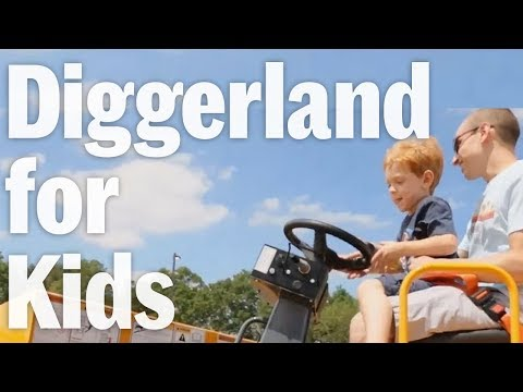 Diggerland Is A Construction-Themed Amusement Park With Heavy Machinery For Kids