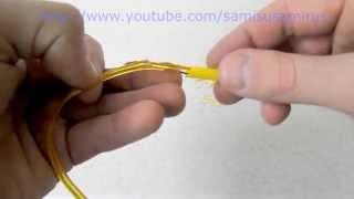Как починить провод - не имея инструментов