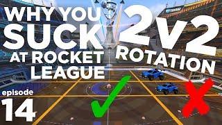 Best 2v2 ROTATION & STRATEGY in Rocket League | WYSARL Episode 14