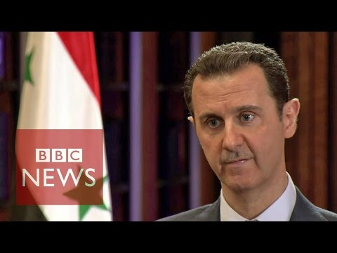 Syria conflict: BBC exclusive interview with President Basha