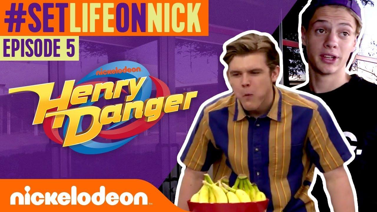 FOOD & SNACKS on the Henry Danger Set!   🌮 BTS Ep. 5   #SetLifeOnNick