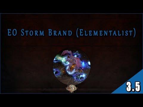 Builds 3.5 – Witch (Elementalist) – Storm Brand con Elemental Overload