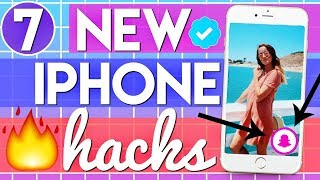 7 NEW iPhone Life Hacks That ACTUALLY Work!