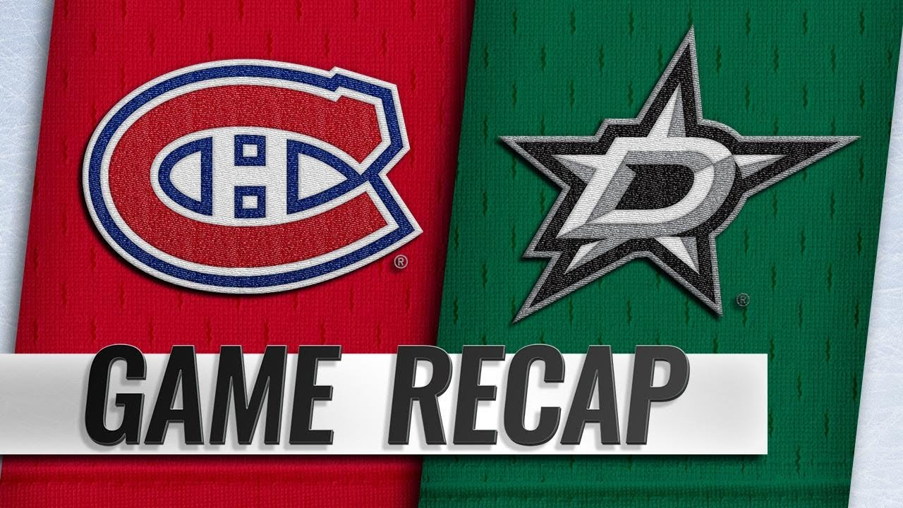 58b5dd8c4 Petry scores in OT to propel Canadiens past Stars - YouTube