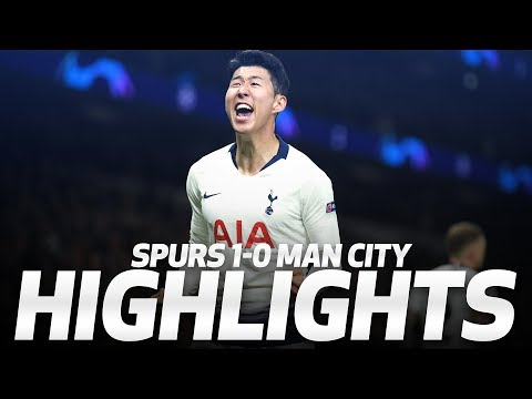 Tottenham Hotspur vs Manchester City - Highlights & Full Match