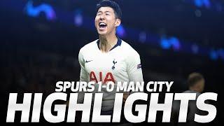 HUGO LLORIS PENALTY SAVE AND HEUNG-MIN SON GOAL | HIGHLIGHTS | Spurs 1-0 Man City