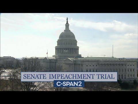 U.S. Senate Impeachment Trial of Former President Trump
