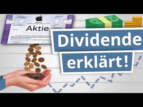 Was sind Dividenden? Aktien Dividende einfach erklärt! | Finanzlexikon