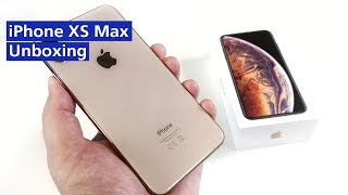 Apple iPhone XS Max im Unboxing (Deutsch)
