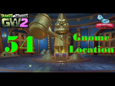 Plants Vs Zombies Garden Warfare 2 Location Of 54 Gnomes Secret Quest Youtube