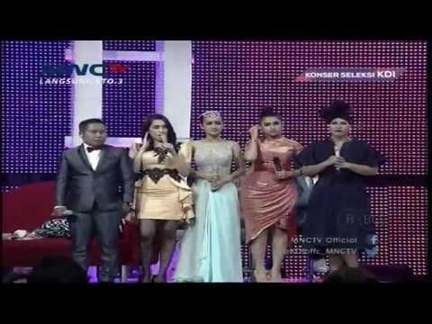 Nanda (Bekasi) Dan Ima (Demak) Pemenang Konser Seleksi KDI 2015 Episode 14 (29/3)