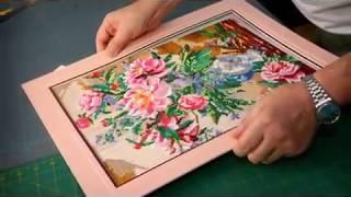 Оформление вышивки(Натяжка, изготовление рамы и вырезание паспарту для вышивки., 2013-04-07T08:02:54.000Z)