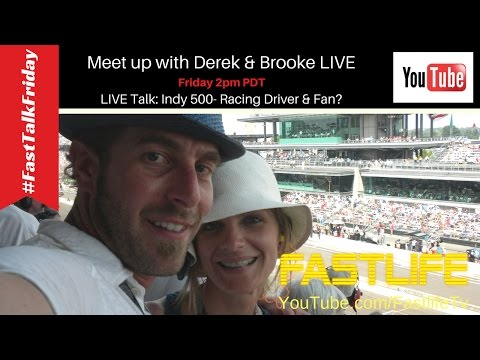 Fast Talk Friday: Indy 500 - Racing Driver & Fan?