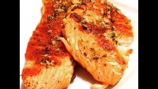 How To Cook Salmon With Garlic Butter Sauce