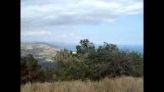 Окрестности Канаки, Крымское побережье(Видео снятое с самой высокой точки Канакской балки в Крыму., 2013-08-06T21:07:29.000Z)
