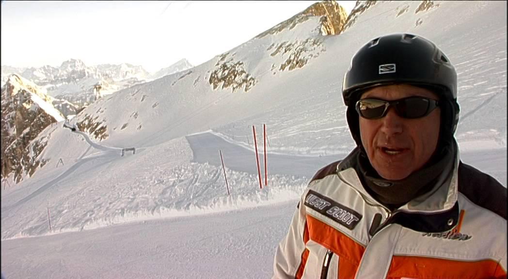 Piste da sci aprica: pista rossa valletta dosso pasò