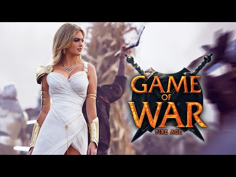 Game of War: Live Action Trailer Commercial ft. Kate Upton