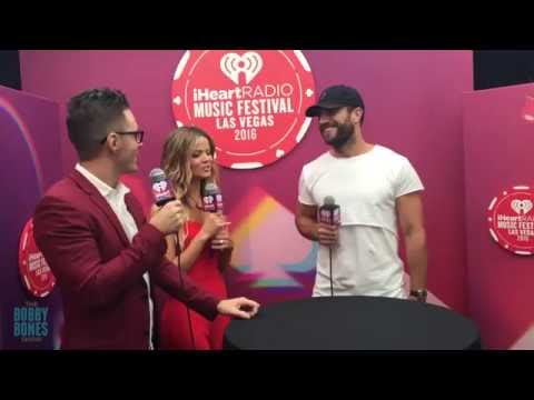 Bobby and Amy Interview Sam Hunt backstage at the iHeart Radio Music Festival