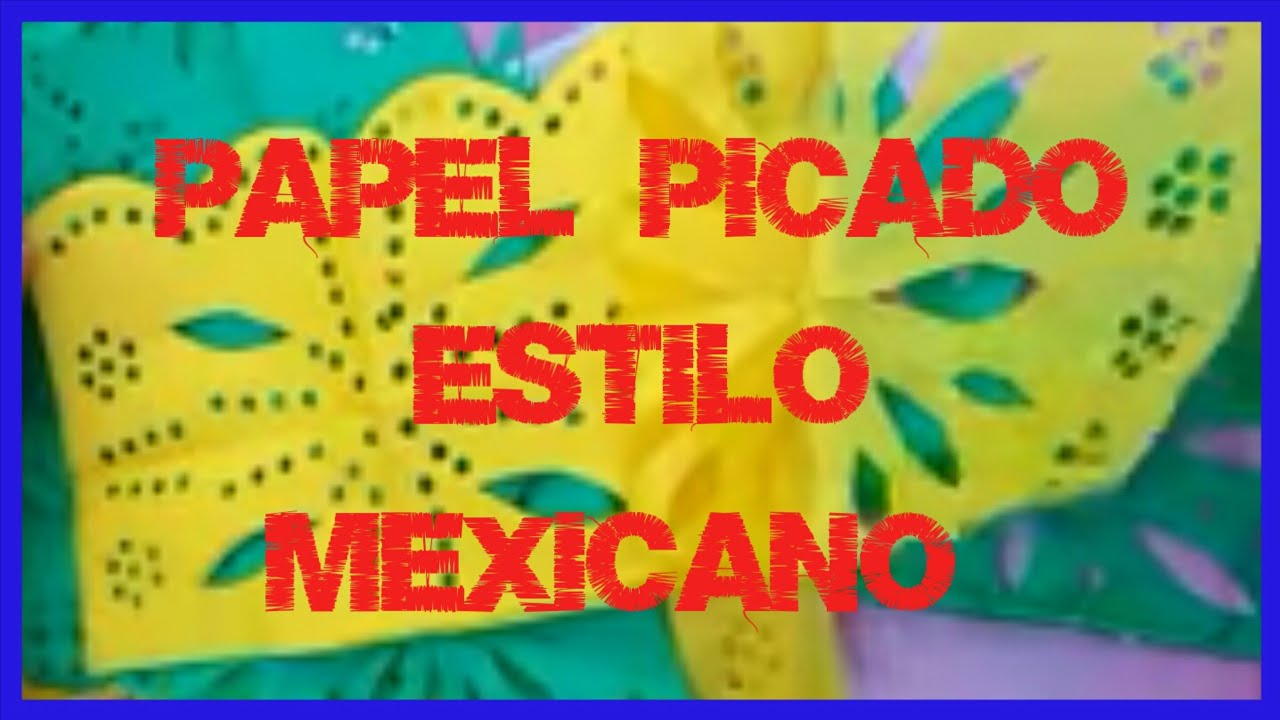 Papel Picado Estilo Mexicanode Papel China