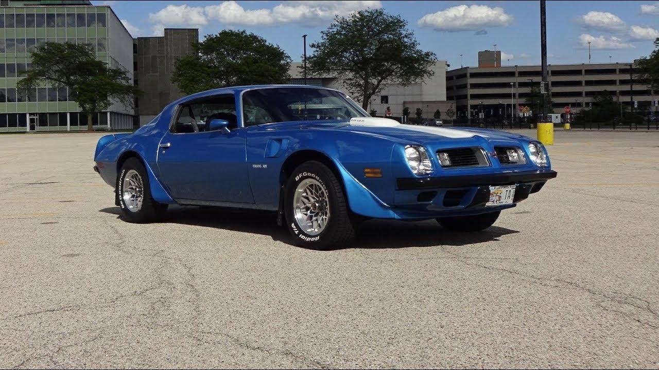 1975 Pontiac Trans Am In Blue Amp White Paint Amp 400 Engine