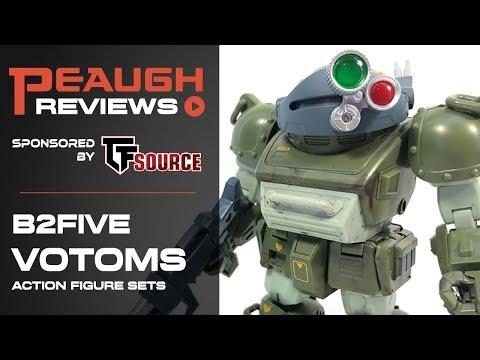 Video Review: B2Five VOTOMS Action Figure Sets