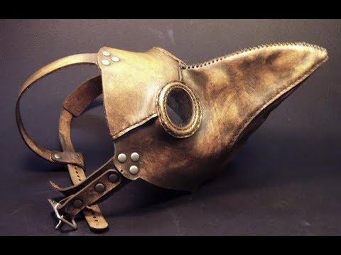 Как сделать маску чумного доктора из кожи