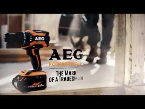 AEG Powertools Introducing Fusion & Force