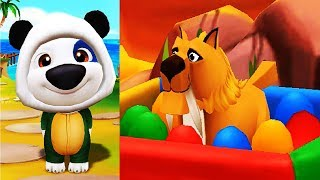 МОЙ ГОВОРЯЩИЙ ХЭНК #115 Говорящий Том и Анджела мультик игра видео для детей