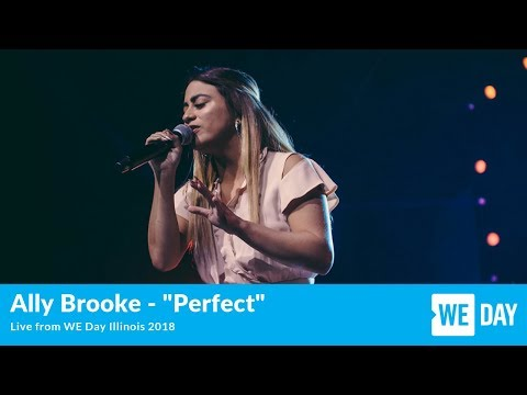 """Ally Brooke - """"Perfect"""" - LIVE from WE Day Illinois"""