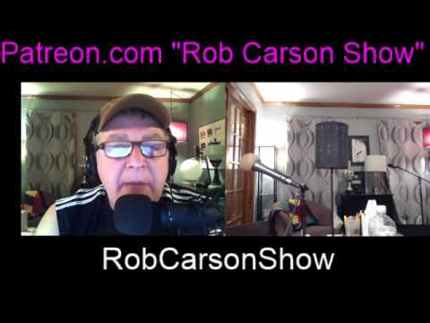 My first Rob Carson Show video podcast!