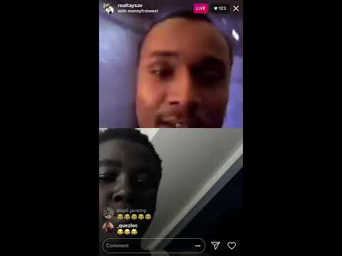 TaySav Goes Live With Fan Dissing Young Pappy/PoohBear