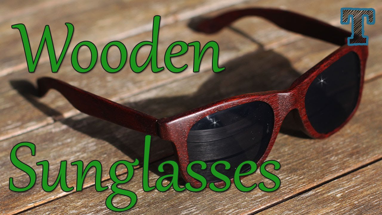 Homemade Wooden Sunglasses: Summer Woodworking Project - YouTube