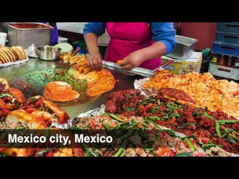 Top 5 cities that serves Best Street Food in the world