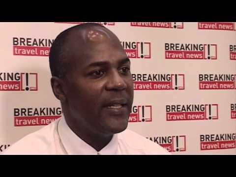 Haydn Hughes, Parliamentary Secretary for Tourism, Anguilla, CHTA 2012