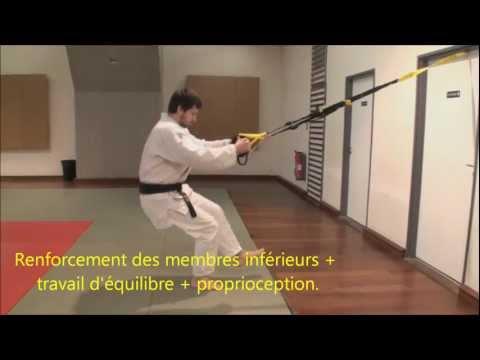 TRX et PPG Judo