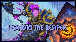 Hearthstone: Kolento enjoys the life as a shadow reaper (reno priest)